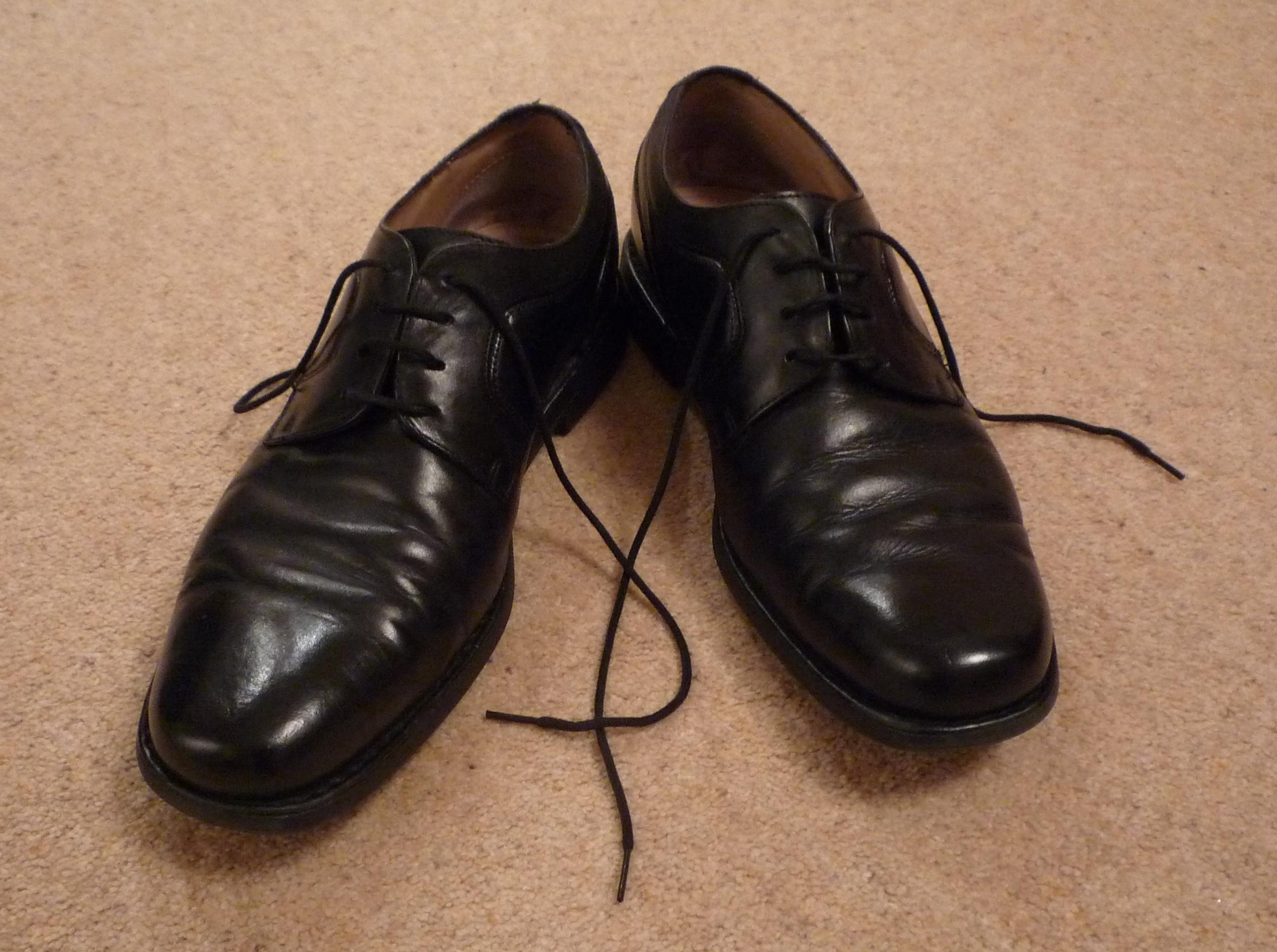 Oz's comfy shoes